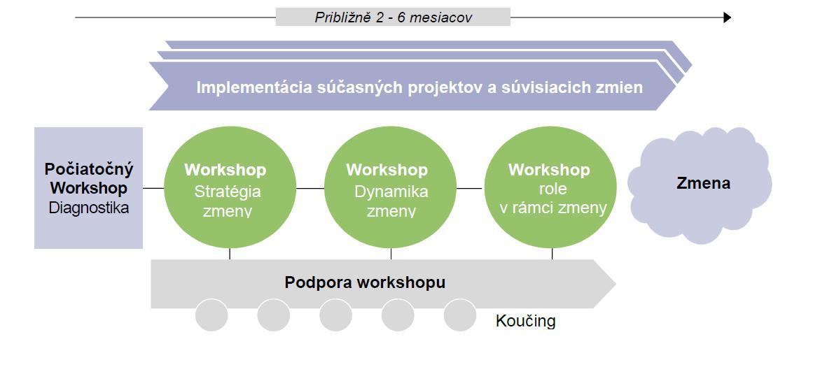 Príklad plánov Change Management workshopov