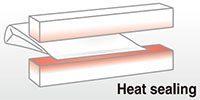 Heat sealing