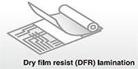 DFR lamination