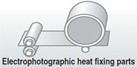 Electrophotographic heat fixing parts