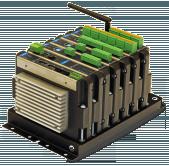 VIBmonitor telepített rezgésdiagnosztikai rendszer
