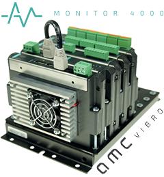 AVM4000 telepített rezgésdiagnosztikai rendszer